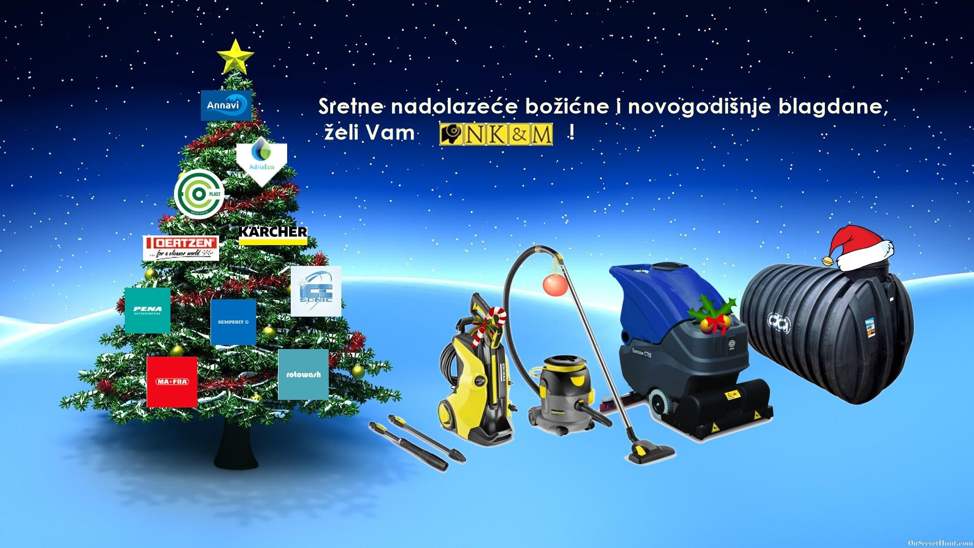 Sretni nadolazeći božićni i novogodišnji blagdani !!