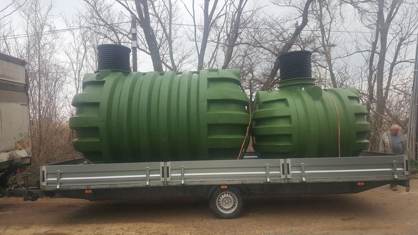 Isporuka rezervoara od 12 000 L i 5 000 L za Zadar